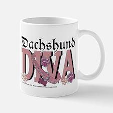 Dachshund Diva Mug