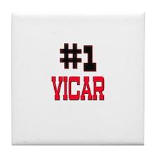 Number 1 VICAR Tile Coaster