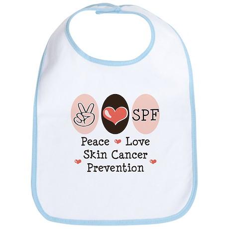 Peace Love SPF Bib
