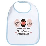 Peace Love SPF Bib