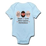 Peace Love SPF Infant Bodysuit