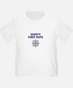 Daddys First Mate Bodysuit T-Shirt