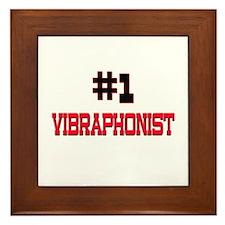Number 1 VIBRAPHONIST Framed Tile