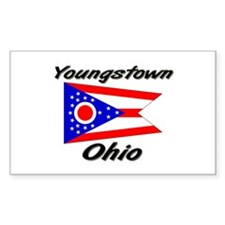 Youngstown Ohio Rectangle Decal