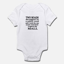 Road to the Mall Infant Bodysuit