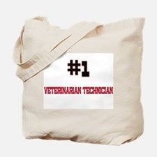 Number 1 VETERINARIAN TECHNICIAN Tote Bag
