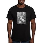 Splash! Unicorn Men's Fitted T-Shirt (dark)