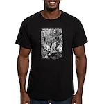 MythMeet Men's Fitted T-Shirt (dark)