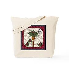 Christmas Palm Tree Tote Bag