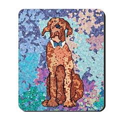 Hound Dog Mousepad