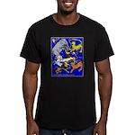 Zoo Fun! Men's Fitted T-Shirt (dark)