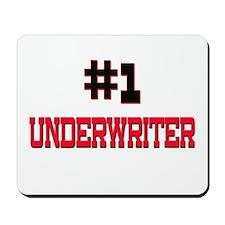 Number 1 UNDERWRITER Mousepad