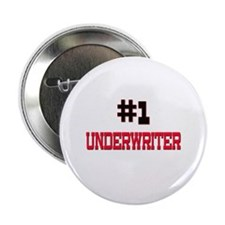 """Number 1 UNDERWRITER 2.25"""" Button"""