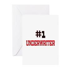 Number 1 UNDERWRITER Greeting Cards (Pk of 10)
