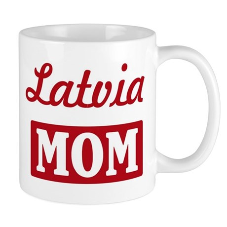 Latvia Mom Mug
