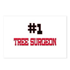 Number 1 TREE SURGEON Postcards (Package of 8)