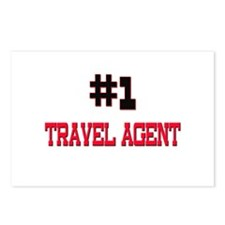 Number 1 TRAVEL AGENT Postcards (Package of 8)