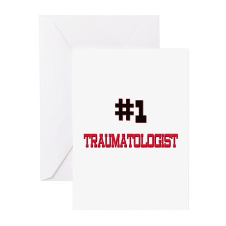 Number 1 TRAUMATOLOGIST Greeting Cards (Pk of 10)