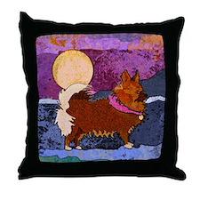 Chihuahua Mix Throw Pillow