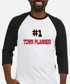 Number 1 TOWN PLANNER Baseball Jersey