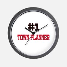 Number 1 TOWN PLANNER Wall Clock