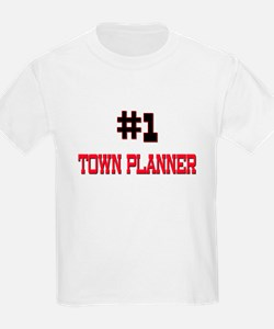 Number 1 TOWN PLANNER T-Shirt