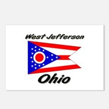 West Jefferson Ohio Postcards (Package of 8)