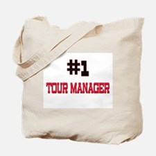 Number 1 TOUR MANAGER Tote Bag