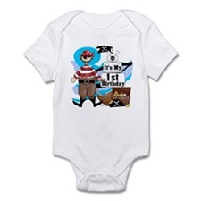 Pirate's Life 1st Birthday Infant Bodysuit