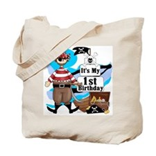Pirate's Life 1st Birthday Tote Bag