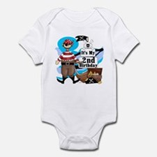 Pirate's Life 2nd Birthday Infant Bodysuit
