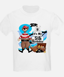 Pirate's Life 5th Birthday T-Shirt