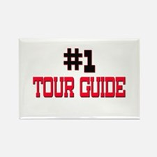 Number 1 TOUR GUIDE Rectangle Magnet