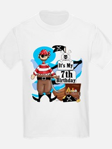 Pirate's Life 7th Birthday T-Shirt