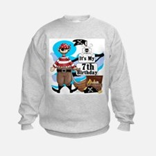 Pirate's Life 7th Birthday Sweatshirt