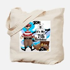 Pirate's Life 7th Birthday Tote Bag