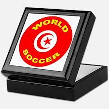 Tunisia World Cup 2006 Soccer Keepsake Box
