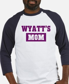 Wyatts Mom Baseball Jersey