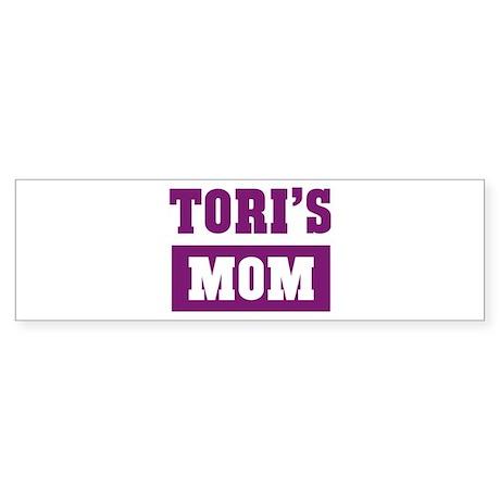 Toris Mom Bumper Sticker