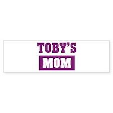 Tobys Mom Bumper Bumper Sticker
