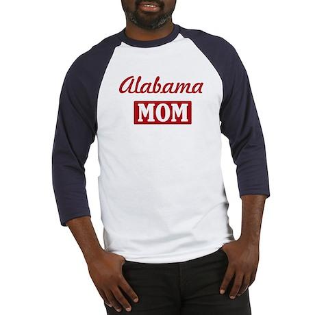 Alabama Mom Baseball Jersey