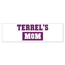 Terrels Mom Bumper Bumper Sticker