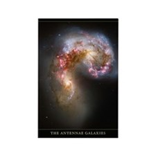 Antennae Galaxies Rectangle Magnet
