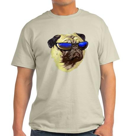Cool Pug Ash Grey T-Shirt