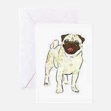 Happy Pug Greeting Cards (Pk of 10)