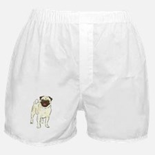 Happy Pug Boxer Shorts