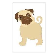 Hungry Pug Postcards (Package of 8)