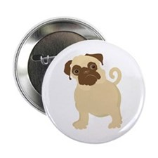 Hungry Pug Button