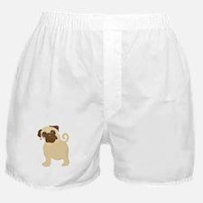 Hungry Pug Boxer Shorts