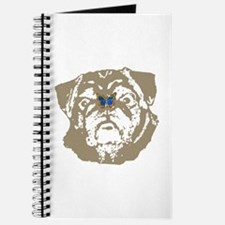 Pug and Butterfly Journal